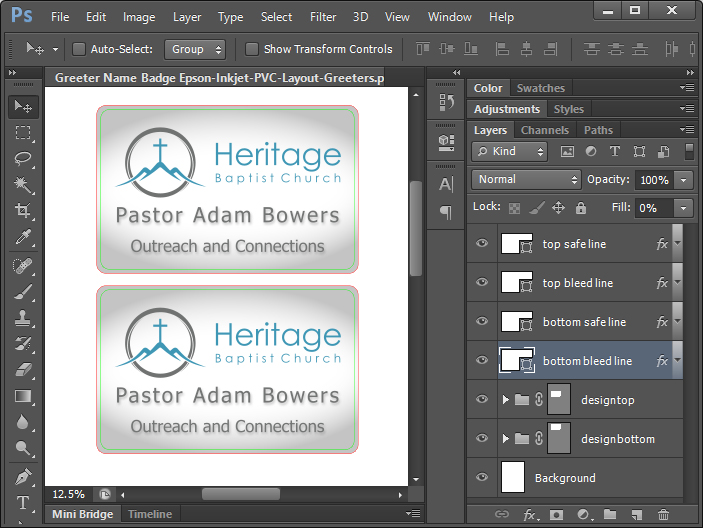 adambowers pastor name badge id printer software tutorial guide